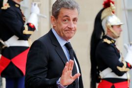 Nicolas Sarkozy could face jail if found guilty [Philippe Wojazer/Reuters]