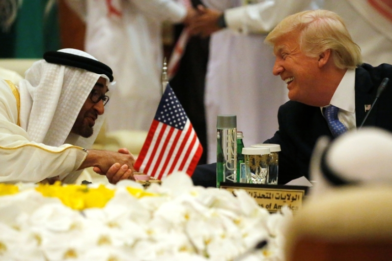 A new report details the United Arab Emirates influence campaign in the US [File:Jonathan Ernst/Reuters]