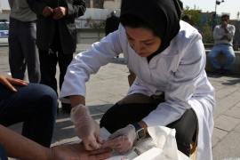 Iran in recent years has seen a surge in the number of HIV infections [File: Vahid Salemi/AP]