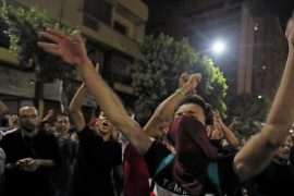 Small groups of protesters gather in central Cairo shouting anti-government slogans [File: Mohamed Abd El Ghany/[Reuters]
