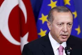 The EU is punishing Turkey for an operation that it felt forced to embark on as a result of their own questionable decision to partner with the YPG in the fight against ISIL, writes Bakeer [Reuters]