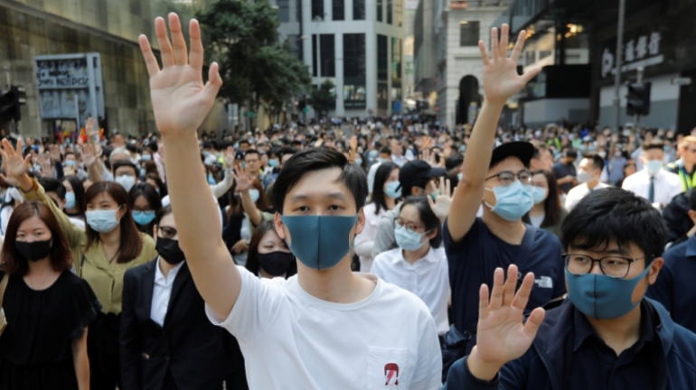 Hong Kong's prominent democracy activists face agonising choice