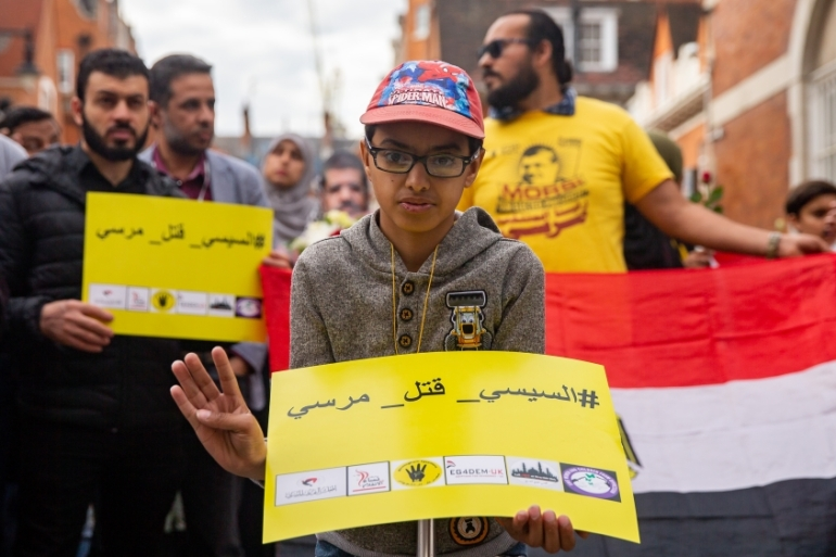 Sisi has faced international condemnation for a crackdown on civil society groups since he took power in 2014, a year after the military toppled President Mohamed Morsi [File: Luke Dray/Getty Images]