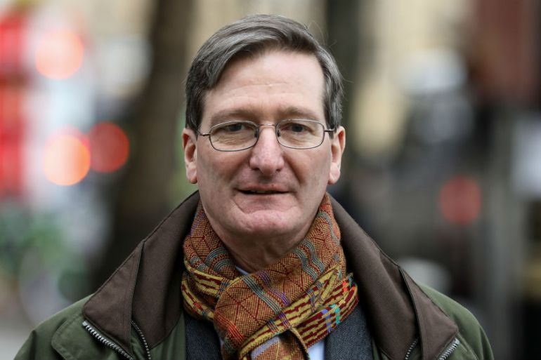 Former Attorney General Dominic Grieve also chairs the committee which oversees Britain's spy agencies [Simon Dawson/Reuters]