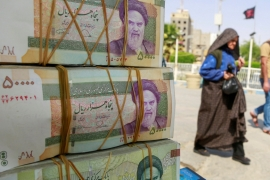 Low- and middle-income Iranians are grappling with a contracting economy and a currency that has only recovered partially after having lost some 60 percent of its value last year [File: Alaa al-Marjani/Reuters]