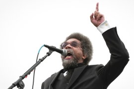 Cornel West: There is 'a neo-fascist in the White House'