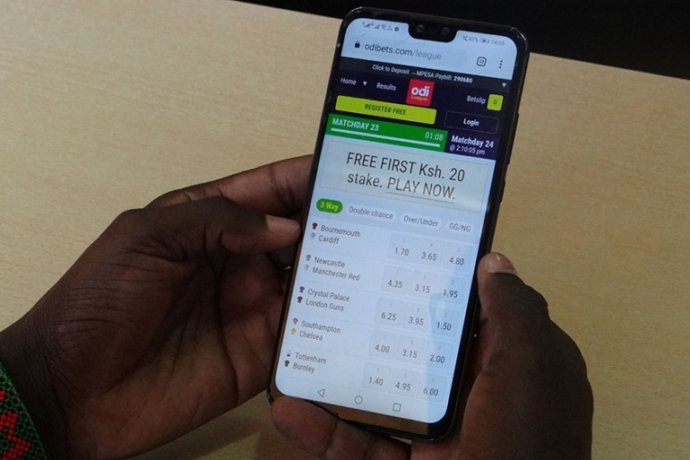 Mobile betting kenya sports betting odds converter
