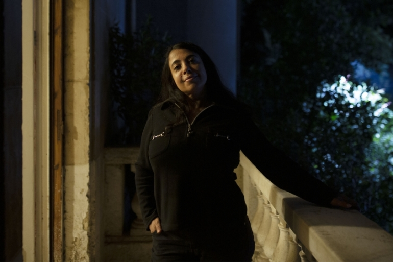 Huda Nasrallah is demanding an equal share of the property left to her two brothers by their father [Maya Alleruzzo/AP]