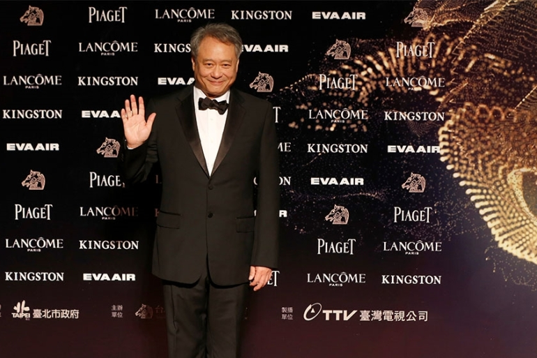 Oscar-winning film director Ang Lee chairs the prestigious Golden Horse Awards which will be held in Taiwan on Saturday. China has boycotted the event [File:Wally Santana/AP Photo]