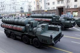 The S-400 system arrived in Turkey months ago and will soon be operational [File: Tatyana Makeyeva/Reuters]
