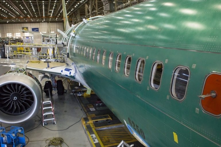 Although Boeing is likely to halt production of the 737 MAX jets temporarily, there are no immediate plans for employee layoffs, Wall Street Journal reported, citing a source [File: Bloomberg]