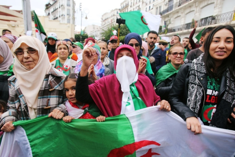 The Algerian military says the election is the only way to break out of the current political deadlock [Ramzi Boudina/Reuters]
