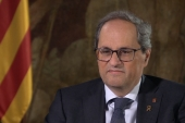 Torra is a staunch separatist who became the head of Catalonia's government following the 2017 push for the region's independence from Spain [Al Jazeera]