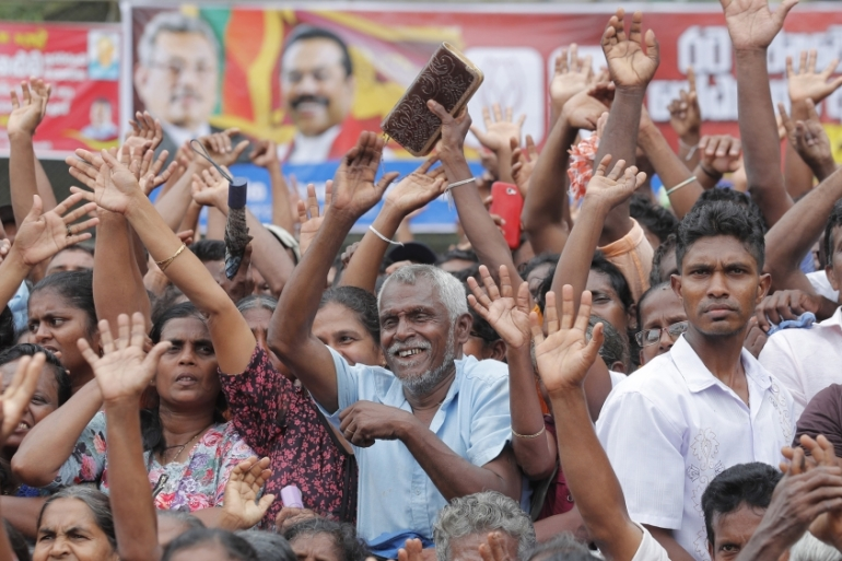 The presidential election has a record 35 candidates from across the political spectrum [File: Eranga Jayawardena/AP Photo]