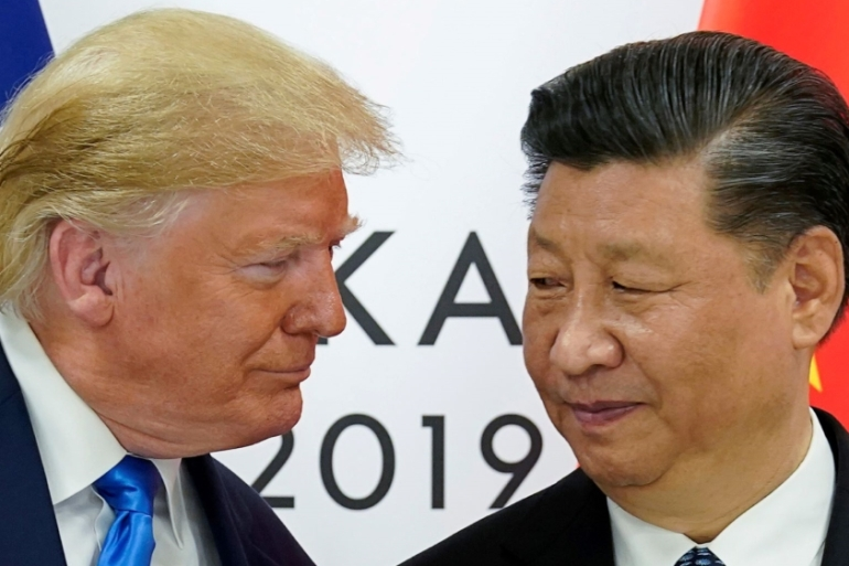 The war of words reignited diplomatic tensions between the two countries, which have tussled over trade and other disputes since Trump took office [Kevin Lamarque]