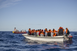 More than 560 people are feared to have drowned in the Mediterranean this year, according to the IOM's Missing Migrants Project [Faras Ghani/Al Jazeera]