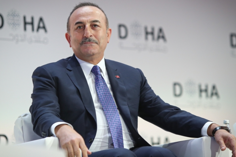 Cavusoglu said Turkey expected the US 'to disengage from the YPG/PKK' [Anadolu]