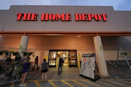 US retailers such as Home Depot are gearing up to comply with a new California privacy law that goes into effect January 1, 2020 [File: Gerald Herbert/The Associated Press]