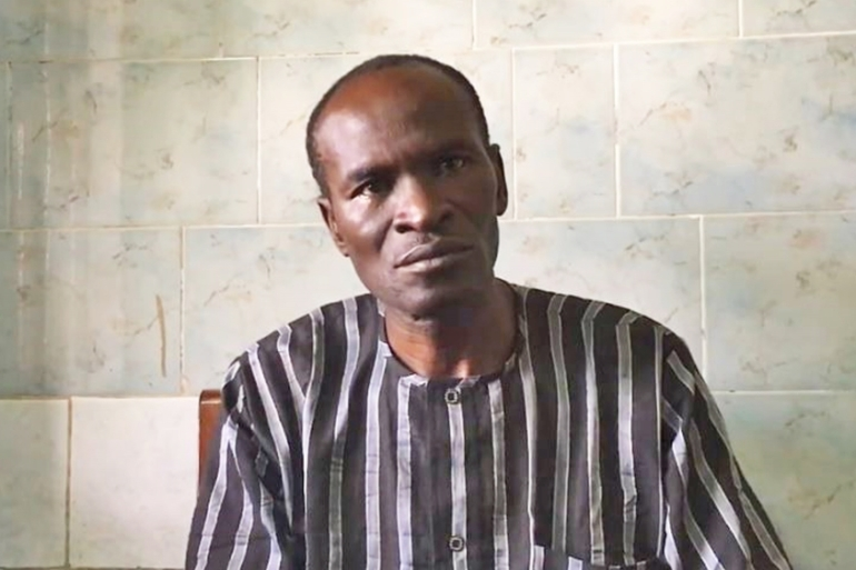 In September 2018 in Abuja, Abiri spoke about being tortured with a hot iron and the experience of not knowing when or if he would ever walk free [Courtesy: Jonathan Rozen/CPJ]