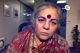 Indian environmentalist Vandana Shiva: Fight for climate justice