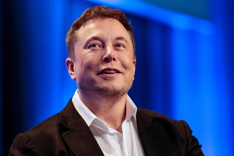 Tesla CEO and SpaceX founder Elon Musk told a packed courtroom that he thought British cave diver Vernon Unsworth 'was just some random creepy guy' on Twitter [File: Kyle Grillot/Reuters]