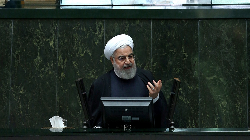 Iranian president accuses United States of savagery after new sanctions
