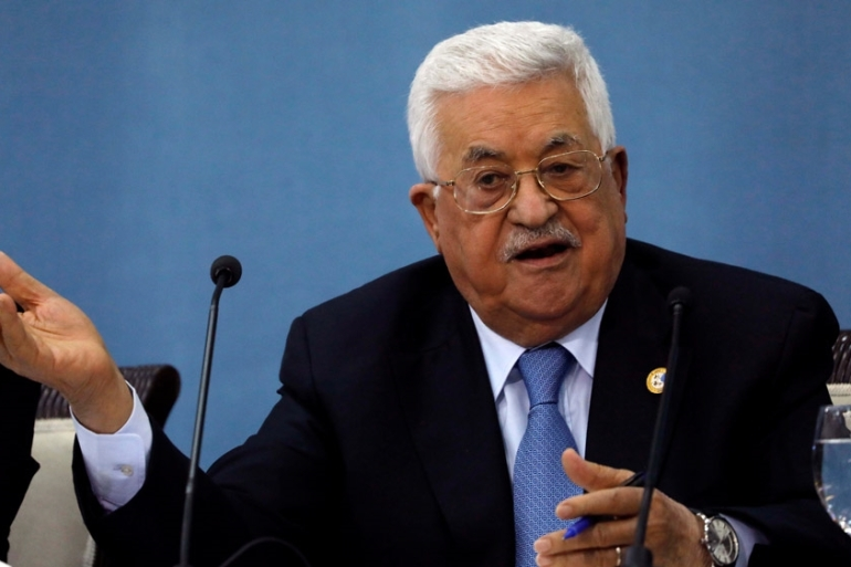 Palestinian President Mahmoud Abbas called Trump's plan the 'slap of the century' after it was announced [File: Mohamad Torokman/Reuters]