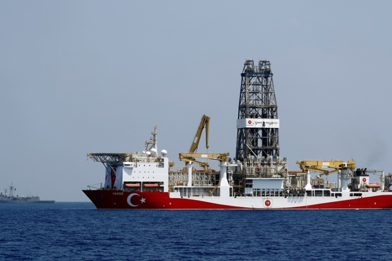 Cyprus says Turkey violated its sovereignty by sending a drilling ship into its waters [File: Murad Sezer/Reuters]