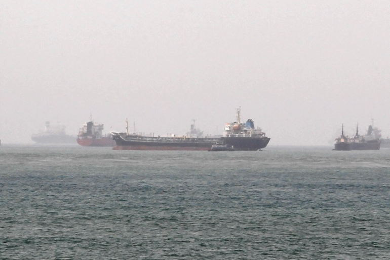 Ships and tankers have increasingly become targets for pirates off the coast of Nigeria [File: Afolabi Sotunde/Reuters]