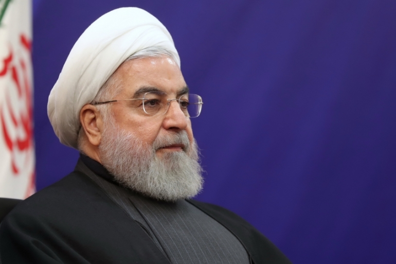 Rouhani had previously said 'anarchy and rioting' would not be tolerated during last month's unrest [File: Iranian presidency/Anadolu]