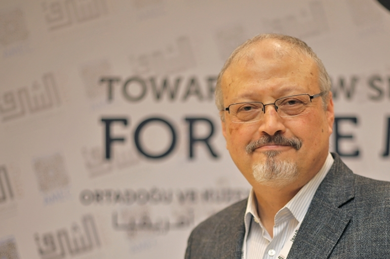 Saudi journalist Jamal Khashoggi was killed at the Saudi Arabian consulate in Istanbul in October 2018 [File: Omar Shagaleh/Anadolu Agency]
