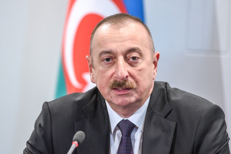 With most powers concentrated in the hands of the president, parliament has a limited role in Azerbaijan's political system [File: Ilmars Znotins/ AFP]