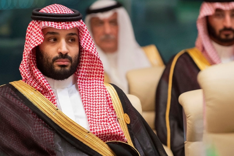 The G20 summit will be virtual, depriving this year's host, Saudi Arabia, of a prime platform for projecting an orchestrated image [File: Bandar Algaloud/Handout via Reuters]