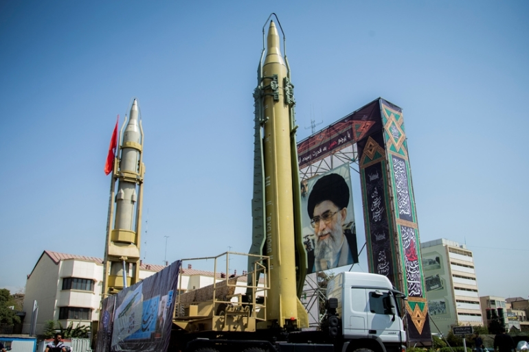 Iran says that it has the right build missiles for self-defence, adding that it is not covered in the nuclear deal with the West [File: Nazanin Tabatabaee Yazdi/TIMA via Reuters]