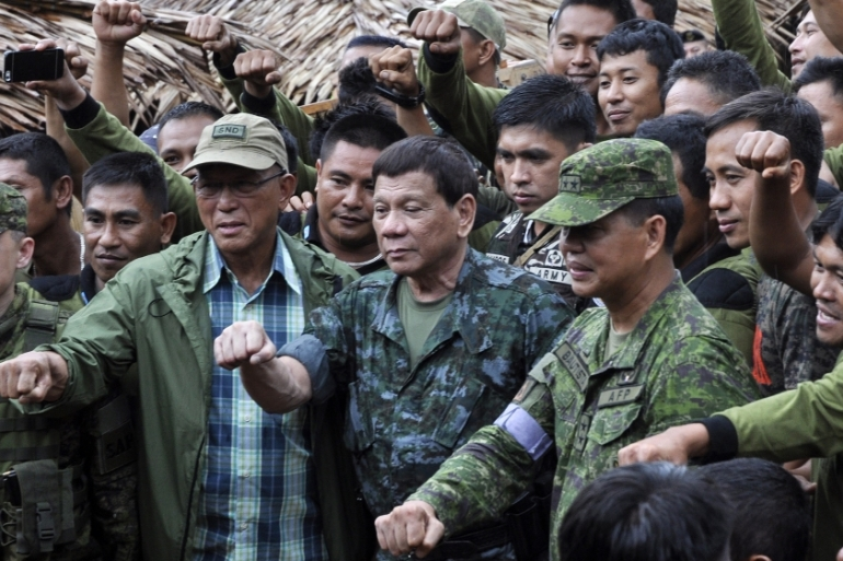 Philippines Duterte To Lift Martial Law In Mindanao By Year End Rodrigo Duterte News Al Jazeera