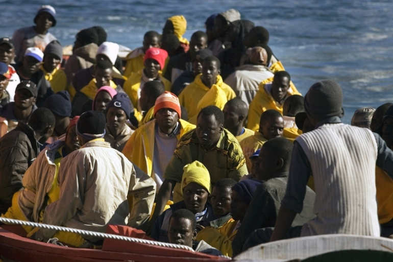 A police source said the boat carrying 27 migrants, all Africans, sank off the coast of the port city of Sfax [File: Arturo Rodriguez/AP]