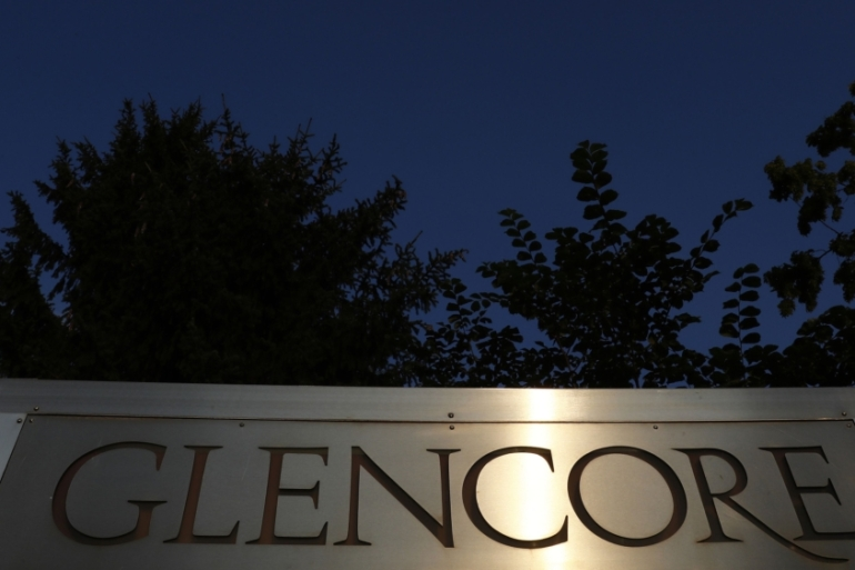 Glencore has operations in more than 150 countries including Nigeria, Venezuela and the Democratic Republic of the Congo [File: Stefan Wermuth/Bloomberg]