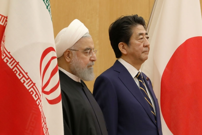 US ally Japan maintains friendly ties with Iran and is looking to launch its own naval operation to secure shipping in the region [Du Xiaoyi/Reuters]