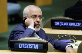 The US imposed sanctions against Zarif in August 2019, blocking any property or interests he has in the US, but the Iranian foreign minister said he had none [File: Justin Lane/EPA]
