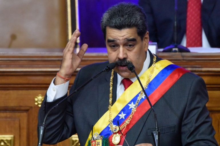 Maduro has long charged the US is attempting to remove him via any means possible [Carolina Cabral/Getty Images]