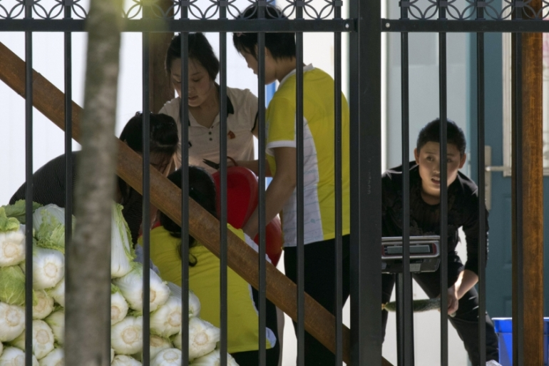 In a mid-year report in 2018, Beijing said it had completed repatriation of more than half of North Korean workers but did not specify a figure [File: Ng Han Guan/AP]