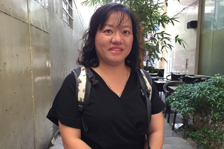 Prominent Vietnamese activist Pham Doan Trang was arrested on the night of October 6 [File: Adam Bemma/Al Jazeera]