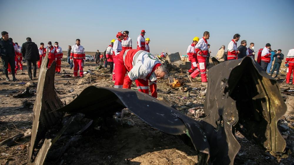 Ukraine says Iran report 'cynical' bid to hide plane crash cause