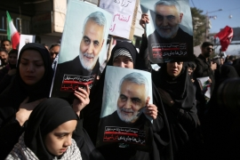 Qassem Soleimani was killed in an air attack at Baghdad airport [File: Mehdi Bolourian/Fars News Agency/WANA (West Asia News Agency) via Reuters]