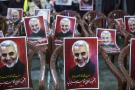 Iranian General Qassem Soleimani was assassinated on January 3, 2020 in Baghdad, Iraq [File: AP/Maya Alleruzzo]