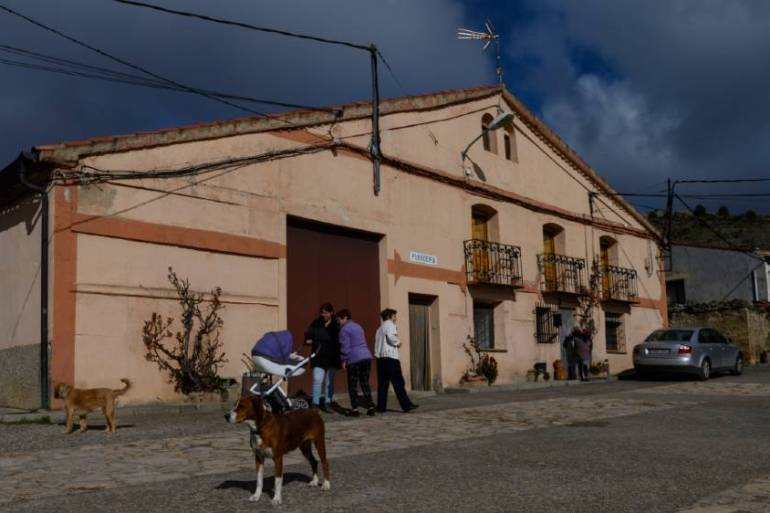 The depopulation of Spain's interior has become a focus of attention, with under-investment in small communities a driving force of emigration [Pierre-Philippe Marcou/AFP]