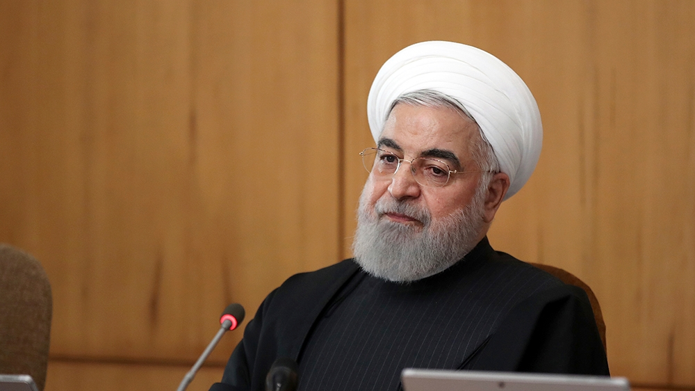 Rouhani condemns US for 'crimes' against Iran