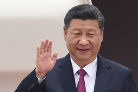 Xi's visit to Myanmar is his first since becoming president of China [File: Anthony Wallace/AFP]