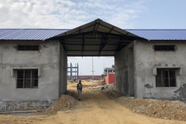 India's largest detention centre in Assam's Goalpara district is nearing completion [Tawqeer Hussain/Al Jazeera]