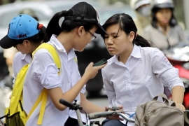 Vietnam has a population of 96 million, with more than 60 million people having their presence on the social media platform Facebook [File: Luong Thai Linh/EPA]